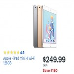 Apple iPad mini 4 Wi-Fi 128GB Tablet Deals