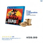 BestBuy.com deals on Red Dead Redemption 2 w/FREE Collapsible Cup w/Purchase (PS4)