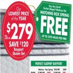 BigLots.com deals on Serta Perfect Sleeper Bayport Twin Mattress + FREE Box Spring