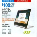 Costco.com deals on Acer R13 1080p 13.3-inch Touchscreen 2-in-1 Chromebook