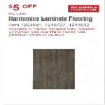 Costco.com deals on Harmonics Toasted Laminate Moisture Resistant Flooring 20.15 SQ FT Per Box