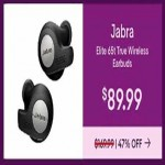 Deals on Jabra Elite 65t True Wireless Earbuds