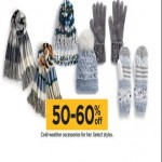Kohls deals on 50 to 60% off Cold-Weather Accessories
