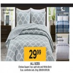 Kohls deals on Chelsea Square 3-pc. Sets and White Birch 5-pc. Comforter Set