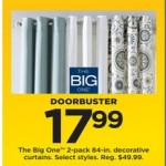 Kohls deals on 2-pk. The Big One Decorative 84-in. Curtains