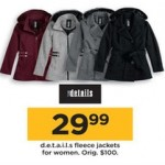 Details Fleece Womens Jackets Deals