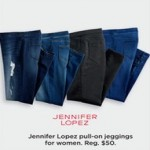 Kohls deals on Jennifer Lopez Womens Pull-On Leggings