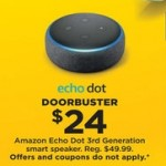 Kohls deals on Amazon Echo Dot 3rd Generation Smart Speaker