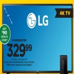 LG 49-inch 4K Smart TV LGK-49UK6090PUA + $90 Kohls Cash Deals