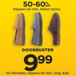 Wembley Mens Slipper Deals