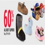 Sears deals on Get 60% Off Select Kids Slippers