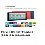 amazon deals on Fire HD 10 Tablet