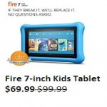 amazon deals on Fire 7 Kids Edition 16GB Tablet 7-inch Display