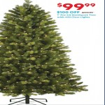 athome deals on 7-ft Pre-Lit Northport Tree with 450 clear Lights