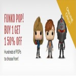 barnesandnoble deals on Get Buy 1 Get Get 1 50% Off Funko Pop