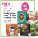 Deals on Keurig K-Cup 36 to 48-ct. Laue & Variety Packs