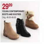belk deals on Young Contemporary Boots And Booties