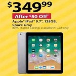 bjs deals on iPad 9.7-inch, 128GB