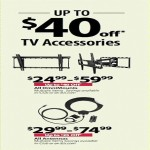bjs deals on Up to $40 Off TV Accessories