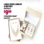 Ladies Boxed Jewelry & Watches Starting at $9.99 Deals