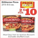 Deals on 2 DiGiorno Pizza 27.5-31.5 oz