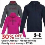 fleetfarm deals on Under Armour Fleece