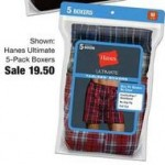 fredmeyer deals on Hanes Ultimate 5-Pack Boxers