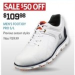 golfgalaxy deals on Mens Foot/Joy Pro S/L Shoes