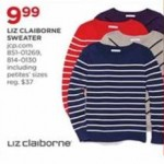 Liz Claiborne Womens Sweater Deals