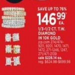 jcpenney deals on 10K Gold 1/3-1/2-cttw. Diamond Rings