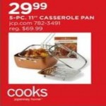 Cooks 5-pc. Casserole Pan Deals