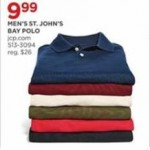 jcpenney deals on St. Johns Mens Bay Polo