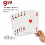 jcpenney deals on Wembley Jumbo Playing Cards
