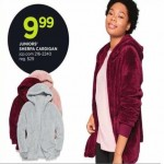 jcpenney deals on Full Zip Junior Sherpa Cardigan