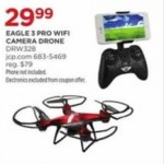 jcpenney deals on Sky Rider DRW328R Eagle Pro 3 Wi-Fi Camera Drone