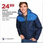 U.S. Polo Assn. Mens Midweight Jacket Deals