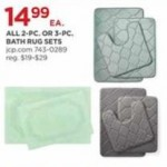 jcpenney deals on All 2-piece or 3-piece Bath Rug Sets