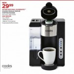 jcpenney deals on Cooks Single Serve Coffee Maker