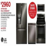 jcpenney deals on LG 4-pc. Black Stainless Steel Electric Kitchen Package