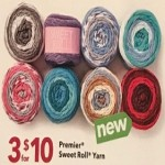 Deals on 3 Premier Sweet Roll Yarn