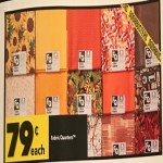 joann deals on Fabric Quarters for $0.79 Each