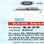 Deals on GE 5-cu ft High Efficiency Top-Load Washer