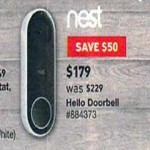 lowes deals on Nest Hello Black WiFi Doorbell