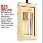 macys deals on Donna Karan 3-pc. Cashmere Collection Rollerball Trio Set