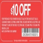 macys deals on Macys Coupon: $10 Off $25+ Order