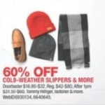 macys deals on 60% Off Cold Weather Slippers & more