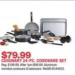 Cuisinart 24-pc. Cookware Set Deals