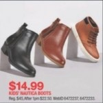 Nautica Kids Boots Deals