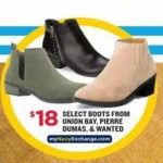 navyexchange deals on Union Bay, Pierre Dumas or Wanted Boots