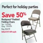 Realspace Padded Folding Chairs Deals